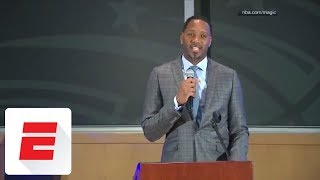 Tracy McGrady Orlando Magic Hall of Fame Induction Ceremony | ESPN