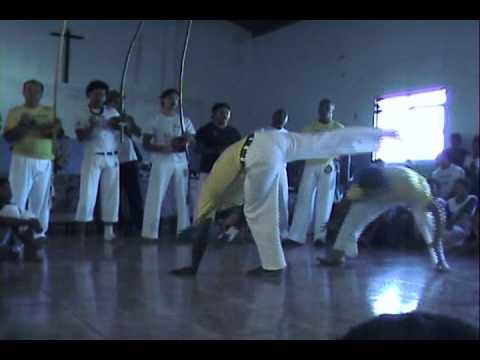 roda de capoeira evento em agua boa 2010