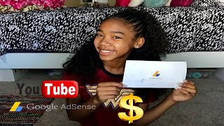 Video My First YouTube Paycheck  + How To Receive pay If You're under 18 MP3, 3GP, MP4, WEBM, AVI, FLV Juli 2018