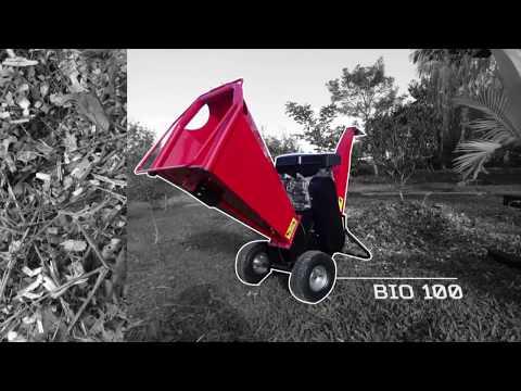 Triturador de galhos Lippel - Bio 100 G - Entrega Técnica