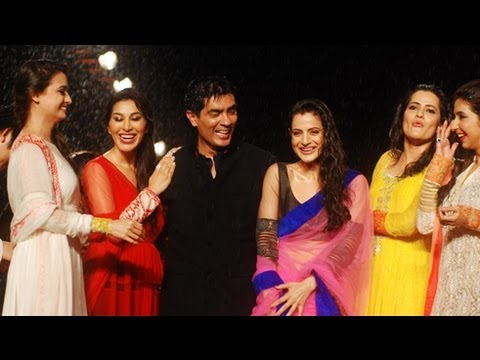 Bollywood Celebs Walks For Manish Malhotra's Collection @ 'Caring With Style' Fashion Show
