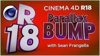 In This Cinema 4D R18 tutorial video, learn about the new Parallax Bump Mapping technique, a new feature for materials in Cinema 4D R18. With Parallax bump mapping in C4D R18, you can push what you can do with bump maps in Cinema 4D materials even further. By enabling Parallax Bump Mapping in Cinema 4D R18, you can create the illusion of elevated and sunken materials, without actually impacting the 3D geometry, which will save on render time in Cinema 4D R18. This new feature to materials and bump mapping in Cinema 4D R18 is a great new feature for this C4D R18 updates, and is is one of many updates for C4D R18, available in 2016.There are also additional updates to Cinema 4D R18 including MoGraph updates, new effectors, updates to materials including the ThinFilm Shader and Parallax Bump Mapping, Inverted Ambient Occlusion, the new Shadow Catcher materials, and more! To learn about other updates to Cinema 4D R18, be sure to check out www.MotionTutorials.net/updates-new-featuresBe sure to check out the new product, 360° Environment Maps Pro for Cinema 4D, Cinema 4D Lite, and Element 3D in the online store:http://www.motiontutorials.net/store/With 360° Environment Maps Pro, you can get new environments for your Cinema 4D & Element 3D Projects.Check it out for Cinema 4D / C4D Lite: http://tiny.cc/bqmbcyCheck it out for Element 3D for AE: http://tiny.cc/1qmbcyTo learn about new MoGraph Animation Features for Cinema 4D R18, check out these videos:MoGraph R18 Cloner HoneyComb Array:  http://tiny.cc/mv84cyMoGraph R18 Scaling:  http://tiny.cc/gt84cyMoGraph R18 Push Apart Effector:  http://tiny.cc/su84cyMoGraph R18 ReEffector:  http://tiny.cc/iu84cyMoGraph R18 Weight Painting:  http://tiny.cc/ct84cyLike this tutorial? Consider becoming a Patron at Patreon.com/SeanFrangella to get additional benefits such as project files and more! Be sure to check out http://www.MotionTutorials.net for weekly tutorials on Cinema 4D, After Effects, Element 3D, Adobe Fuse and other cool motion graphics apps! This free Cinema 4D R18 tutorial also covers 3D animation tips and tricks in C4D.To get weekly Cinema 4D, Element 3D, After Effects, Motion Graphics, VFX, and 3D animation tutorials be sure to subscribe!http://www.youtube.com/subscription_center?add_user=SEANFRANGELLA To check out new features added to Cinema 4D R17, check out this video!http://tinyurl.com/gtf2h9rTo check out new features added to Cinema 4D R16, check out this video!http://tinyurl.com/ptphgwhCheck out the Top 5 Features of Element 3D V2 for After Effects!http://tinyurl.com/p3g4nwq