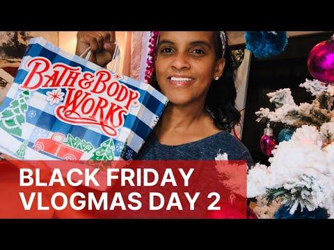 Black Friday Haul 🎄 Bath and Body Works 🎄 Vlogmas Day 2