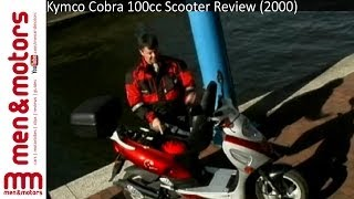 1. Kymco Cobra 100cc Scooter Review (2000)