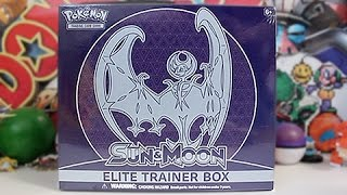 Opening A Lunala Sun & Moon Elite Trainer Box!!! by Unlisted Leaf