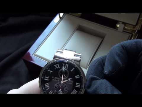 "Ulysse Nardin ""Maxi Marine Chronograph"" модель № 255.49"