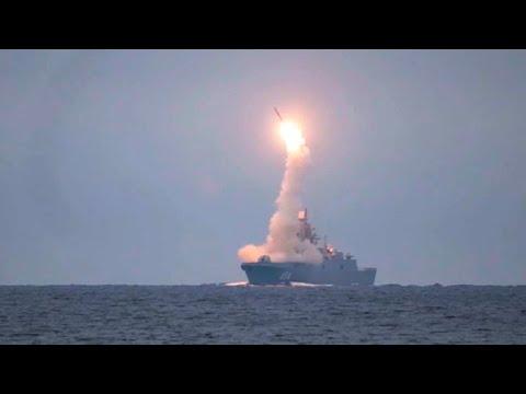 Фрегат «Адмирал Горшков» впервые выполнил стрельбу ракетой «Циркон» из Белого моря
