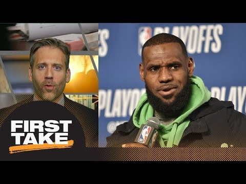 Max: Cavaliers' playoff run should impact LeBron James' decision for next season | First Take | ESPN