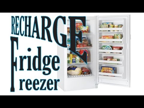 Frigidair Upright Freezer repair r134a refill part 1 of 2