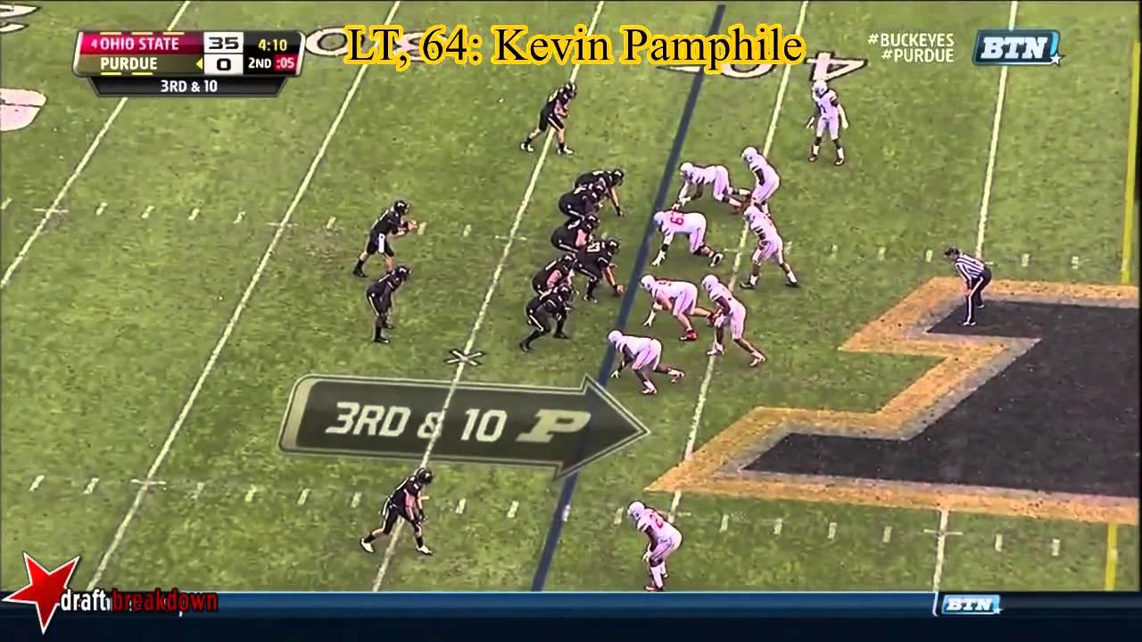 Kevin Pamphile vs Ohio State (2013)