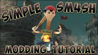 Simple Sm4sh Modding Tutorial