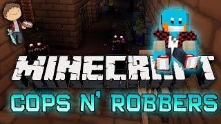 Minecraft: Cops N' Robbers Halloween Special! w/Mitch&Friends