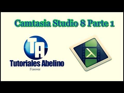 ★ Tutorial de Camtasia Studio 8 (Parte 1) Grabar y Editar, Cortar, Dividir, Copiar, Pegar