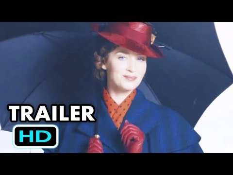 MARY POPPINS RETURNS Official Trailer TEASE 2018 Emily Blunt, Disney Movie HD