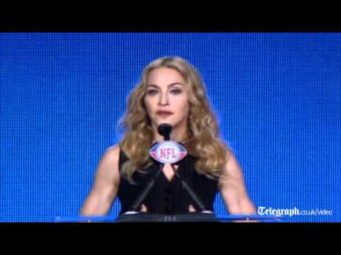 Super Bowl XLVI: Madonna promises there will be no naked wardrobe malfunction in her half-time show
