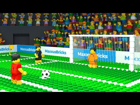 LEGO Football Penalty Fail (FIFA World Cup 2018)