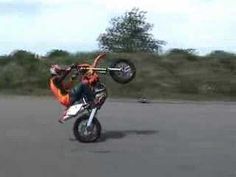 KTM Supermotard Stuntrider Wheely-Boy