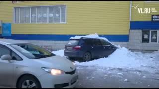Во Владивостоке снег упал на Ipsum