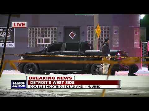 1 dead, 1 injured in shooting on Detroit's west side