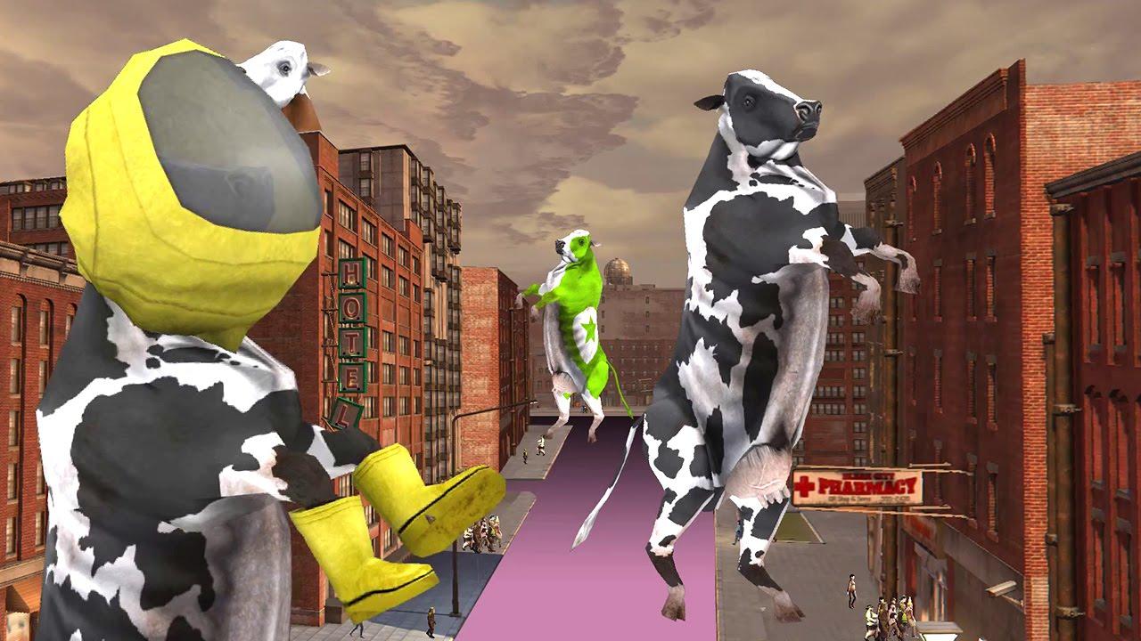 CARMAGEDDON REINCARNATION – Killer Cows Trailer (2015) #VideoJuegos #Consolas
