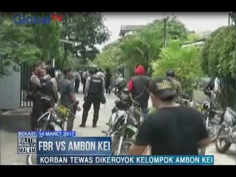 Perang FBR Vs Ambon Kei, Polisi Cegah Serangan Balasan dari FBR di Bekasi - BIM 14/03
