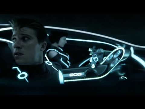 TRON: Legacy (2010) - Quorra Rescues Sam - 4K Upscale