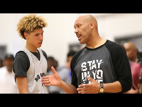LaVar Ball YELLS at LaMelo for Not Playing Defense: