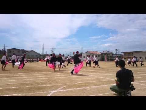 平成27年9月19日 郷荘中学校体育祭 赤団 3年生最後の体育祭