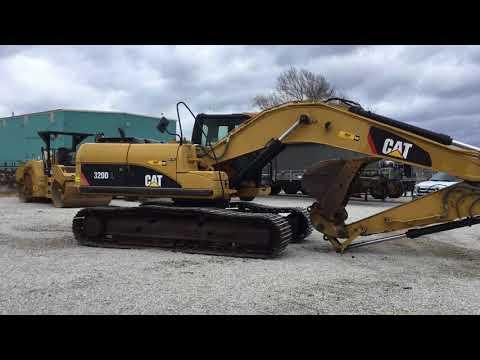 CATERPILLAR トラック油圧ショベル 320DL equipment video 3TfQSBDWWvM