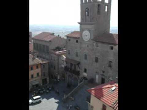 Simple, Beautiful Vntage Collage in Cortona
