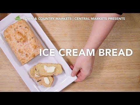 Ice cream bread recipe video