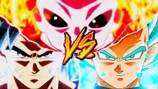 GOKU VS. JIREN VS. VEGETA RAP  DRAGON BALL SUPER  YKATO BTH INVERSO  2018