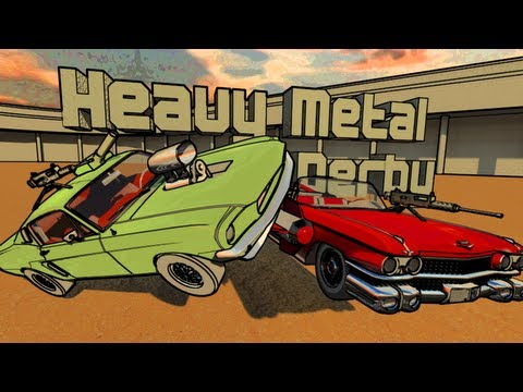 Video of Heavy Metal Derby 3D Demoliton