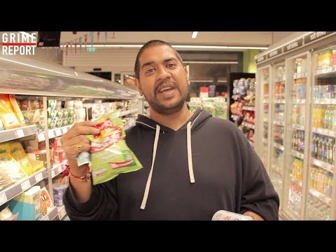 ANGRY SHOPKEEPER | THE FIVE POUND MUNCH @TheGrimeReport @AngryShopkeeper