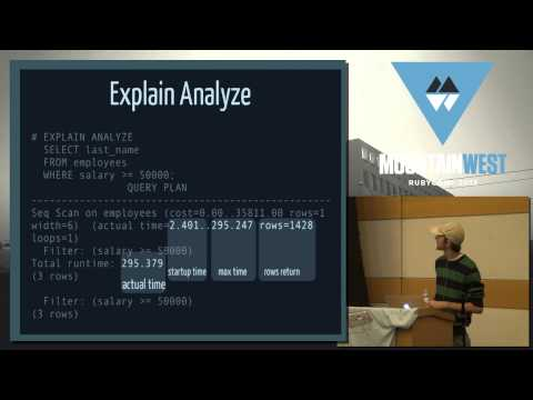 MountainWest RubyConf 2013 Postgres Demystified by Craig Kerstiens (видео)