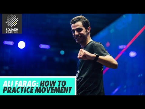 Squash Tips: Ali Farag - How To Practice Movement