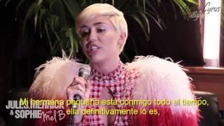 Entrevista completa a Miley Cyrus por 2dayFM de Sydney - 23/06/2014 [Subtitulada Español]