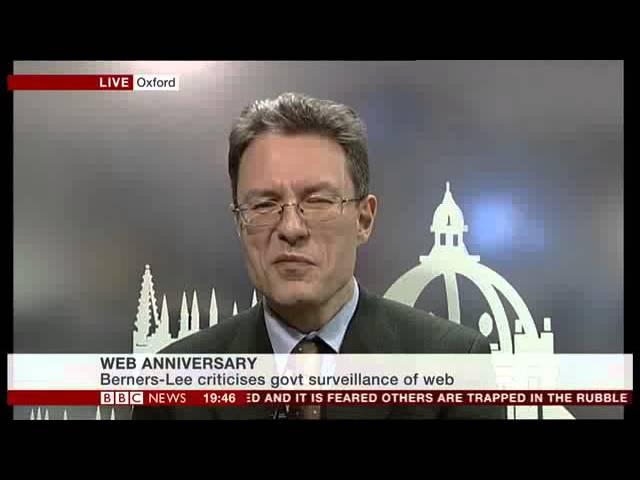 BBC News: Web 25th Anniversary