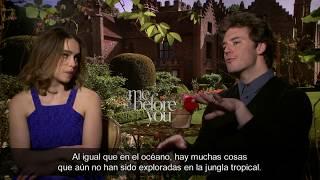 """Entrevista a Emilia Clarke y Sam Claflin """"Yo Antes de Ti"""""""