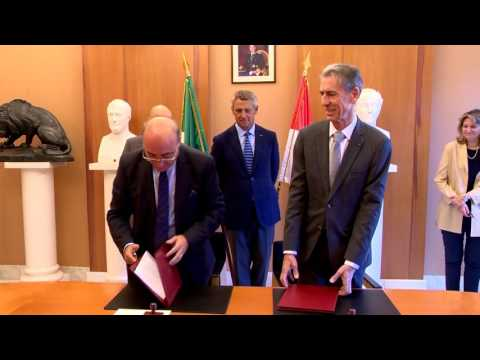 Monaco and Italy sign judicial agreement