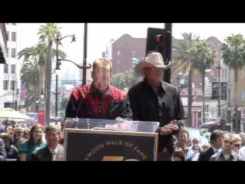 Alan Jackson Walk of Fame Ceremony