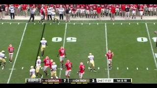 Orson Charles vs Georgia Tech 2011