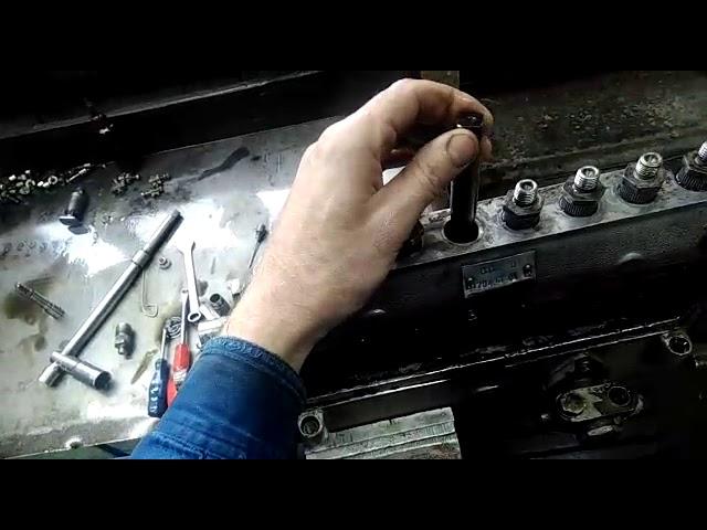 Клинит плунжер ремонт ТНВД ЯМЗ-238