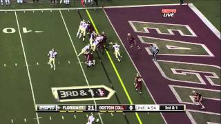 Luke Kuechly vs Florida State 2011