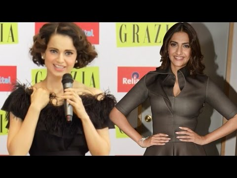 Here's What Kangana Ranaut Has To Say About Sonam