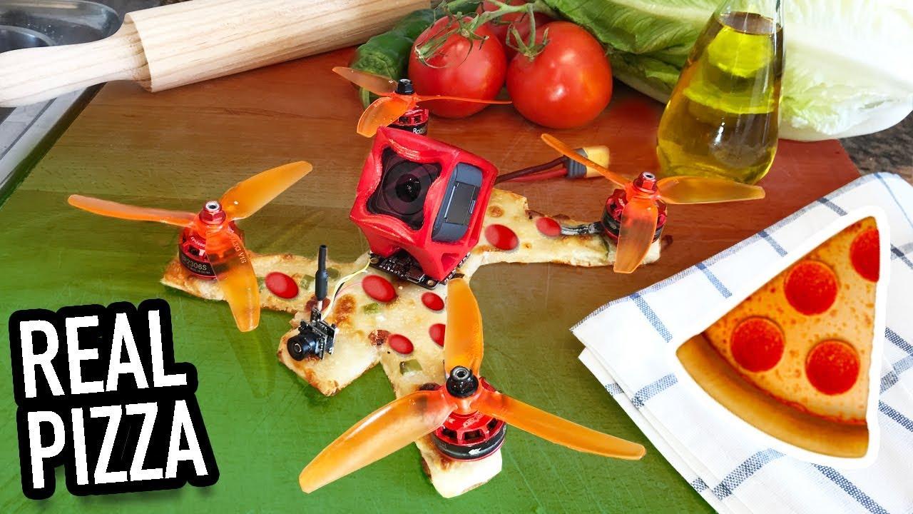 Доставка дрона пиццей