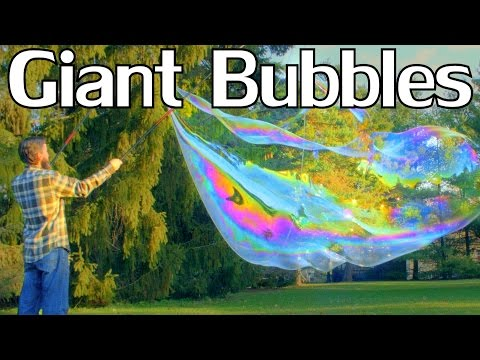 How to Make Giant Bubbles With Guar Gum