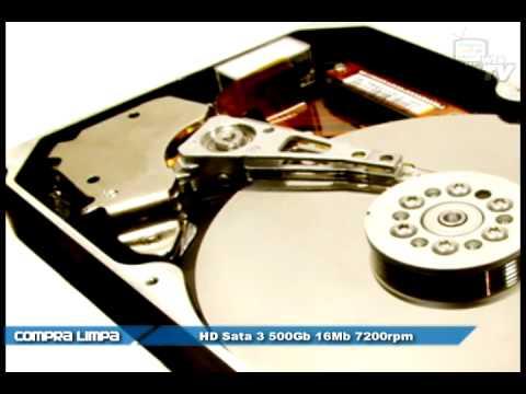 HD Sata 3 500Gb 16Mb 7200rpm