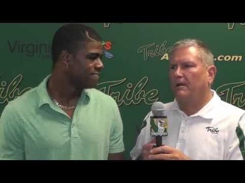 Tre McBride Interview 10/15/2014 video.