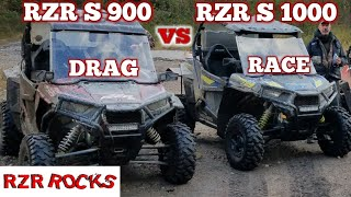 8. BIG Drag Race w/Polaris RZR S 1000 vs Polaris RZR S 900 Just who is the TOP DOG in the